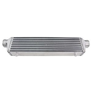 """Image 5 - PQY   Universal Turbo Intercooler Bar & Plate OD 2.5"""" 550*140*65mm Front Mount Intercooler PQY IN811 25"""