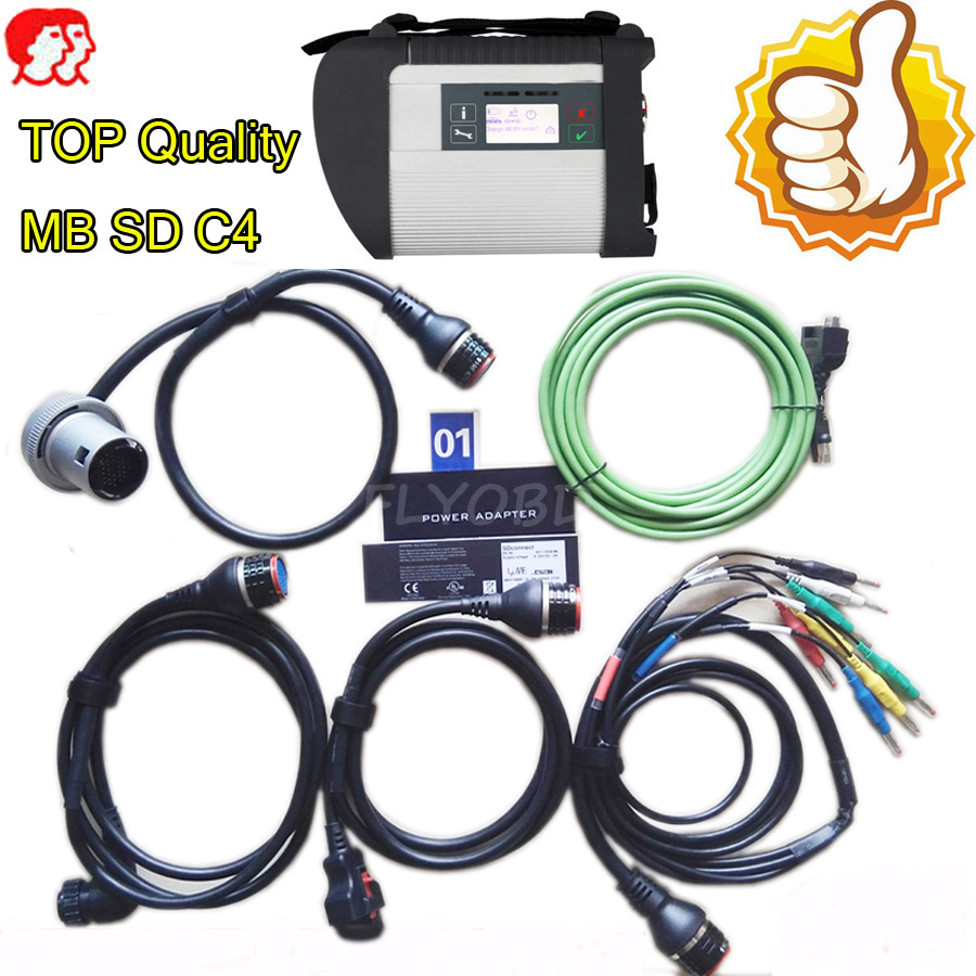 Best A++ Mb star diagnostic c4 with software SSD/HHD VEDIAMO+DAS+DTS multiplexer code readers scan tools SD c4 connect compact 4