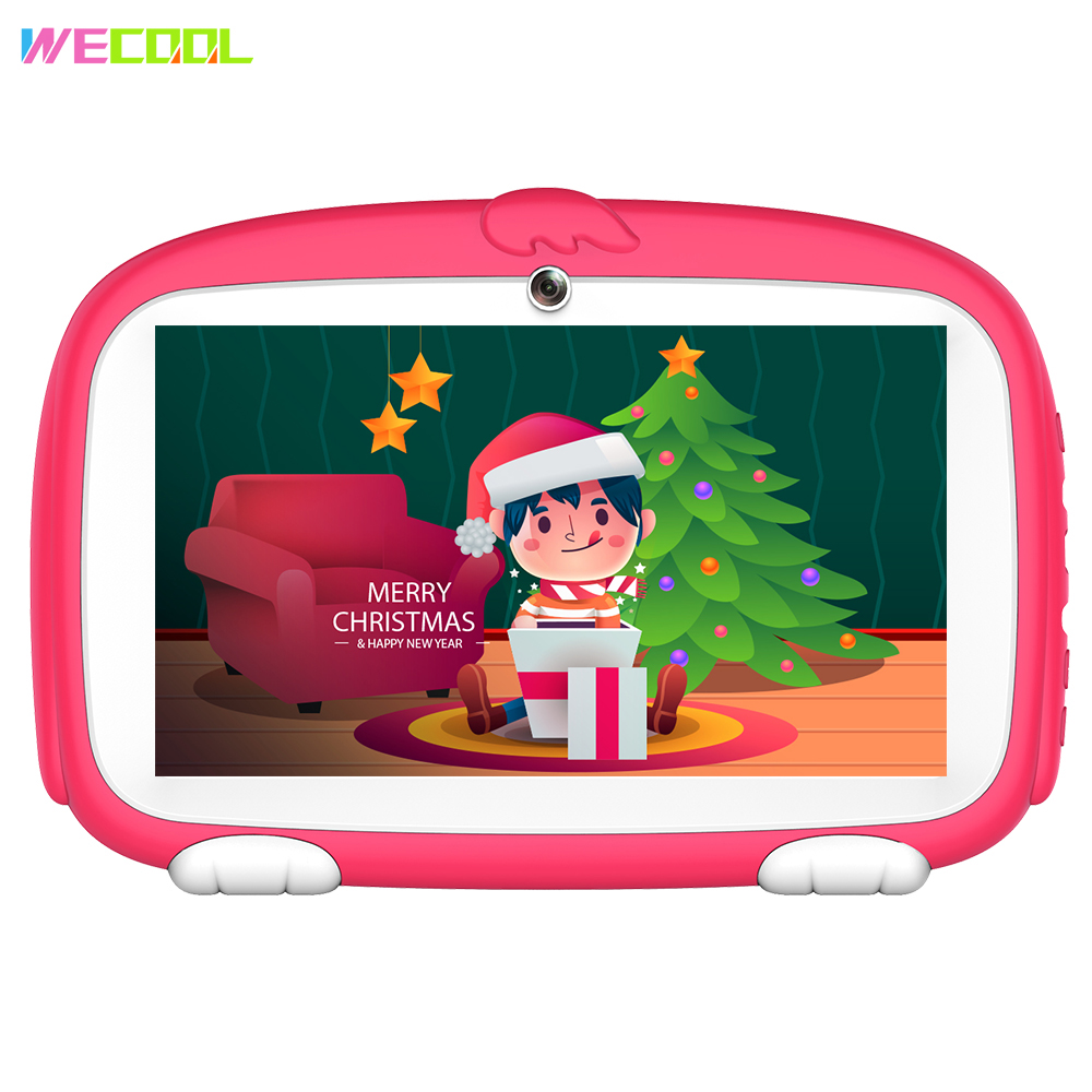 Computer & Office Ambitious Discount Promotion Wecool K7-plus Kids Tablet Pc 7 Inch Android Tablet Quad Core 1gb+8gb Kids Educational Mid Kids Birthday Gift