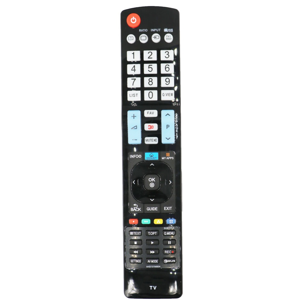 AKB73756504 For LG TV AKB73756502 32 42 47 50 55 84 LA y LN LA79 LA86 LA96 LA97 LA98 series Plasmsa LED LCD HDTV Remote Control in Remote Controls from Consumer Electronics
