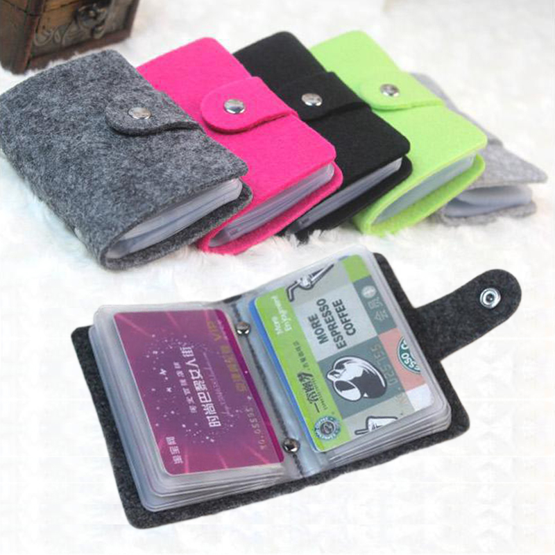 5 Colors Vintage Pouch ID Credit Card Wallet Cash Holder Organizer Case Box Pocket Passport Cover 0Q9Z 6JH4
