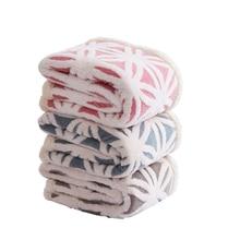 Super Soft Coral Fleece Sherpa Blanket Sofa Plaid Pink Blue Color Mink Throw Portable Spring Travel Blanket Single Size Blankets все цены