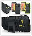 Resistente forte capa de silicone para motorola moto g suporte do telefone armadura resistente caso duro pc + tpu xt1032 xt1028