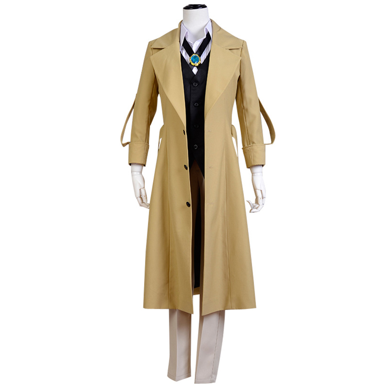 Bungo Stray Dogs Dazai Osamu Cosplay Carnaval Costume Halloween Christmas Costume(China)