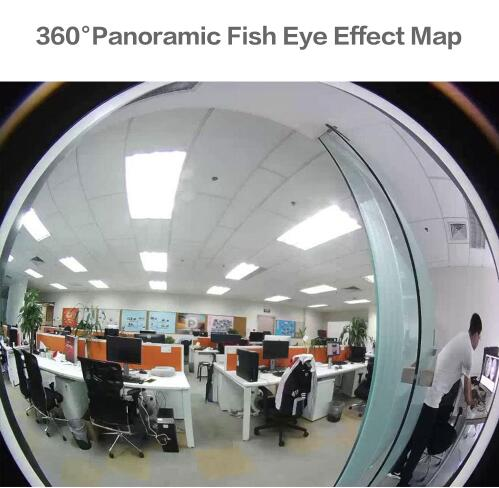 1080 P лампочки Беспроводной IP Камера 3,0 МП 360 градусов панорамный FishEye видеонаблюдения Камера Wi Fi P2P обнаружения движения IP Камера - 3