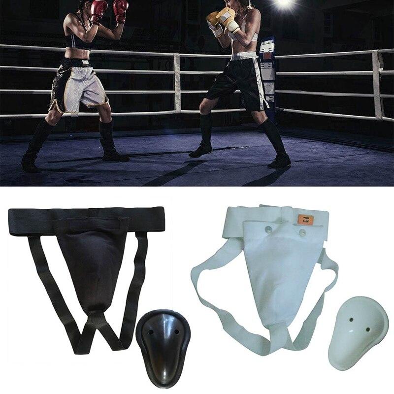 Sanda Crotch Guard Kick Boxing//Karate//Muay Thai Training Shorts Groin Protector