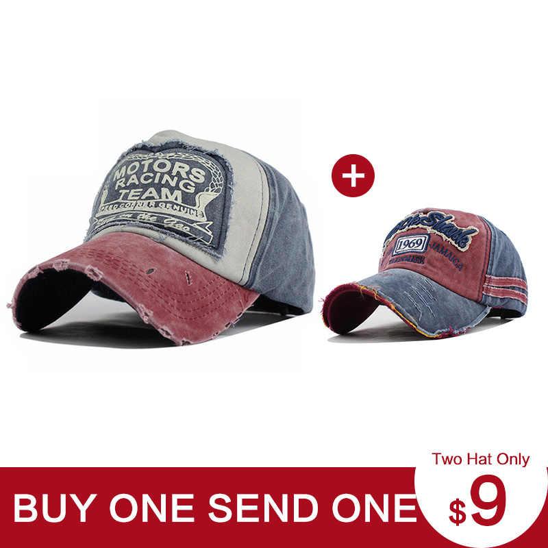 [FLB] 2 قطعة نمط بيع للجنسين القبعات للرجال النساء طحن متعدد الألوان gorras القطن قبعات ترد لمكانها غسل كاب الصيف الهيب هوب قبعات