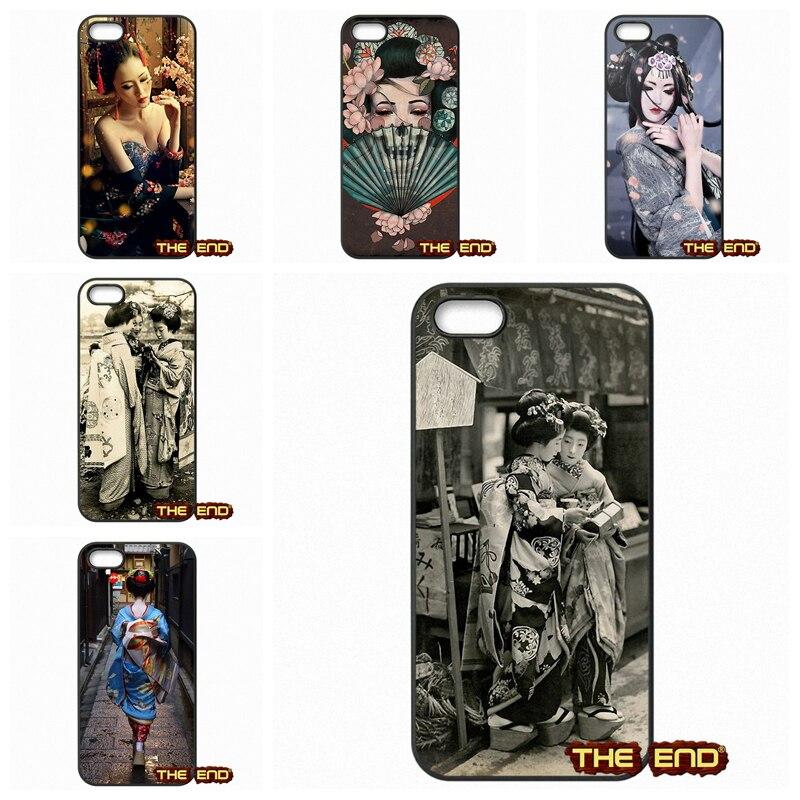 iphone Geisha case girl