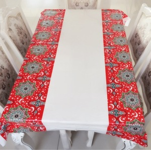 Image 4 - Muslim EID Disposable TableCloths Ramadan Table Cover Tablecloth Waterproof For Moslem Islamism Decoration 180*110cm 3 Styles