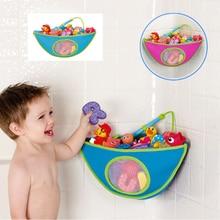 Bath Toy Organizer Storage Bin Baby Bathroom Bag Kids Tub Waterproof Hanging  Shape