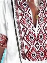 Women Ethnic Style Boho Blouse