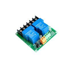 【SIMPLE ROBOT】two 2 канальный релейный модуль 30A с Оптрон 5V поддерживает высокий и низкий Тригер вспышка триггера для умного дома