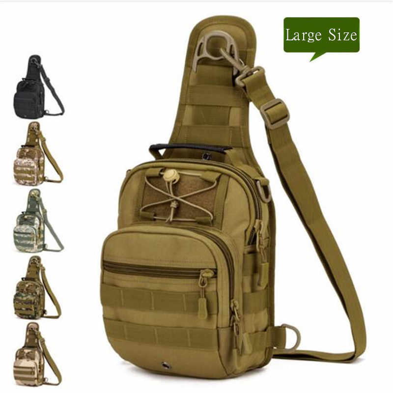 Men's bags tactics chest package ride one shoulder backpack high grade inclined four use backpack X202 large travel  bag package