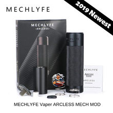 MECHLYFE x AmbitionZ VapeR ARCLESS MECH MOD fit 18650/20700/21700 Battery MECHLYFE ARCLESS vs CoilART Mage/ VGOD Elite MECH MOD(China)