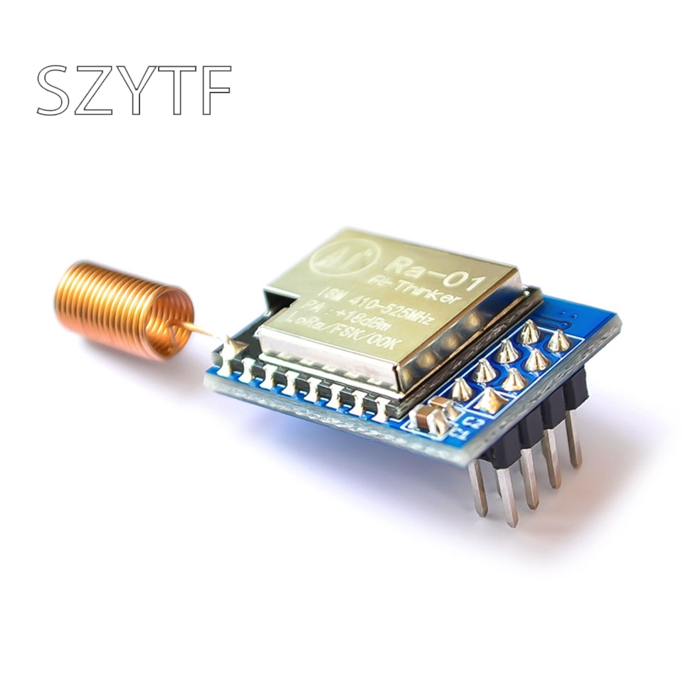 Sx1278 lora spread spectrum módulo sem fio/433 mhz/spi interface/anxin can Ra-01