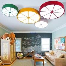 цены Children lamp Ceiling Lights personality creative lemon cartoon LED ceiling bedroom living room dining room children's lamp