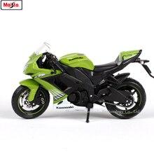 Maisto 1:18 Kawasaki ZX-10R original authorized simulation alloy motorcycle model toy car