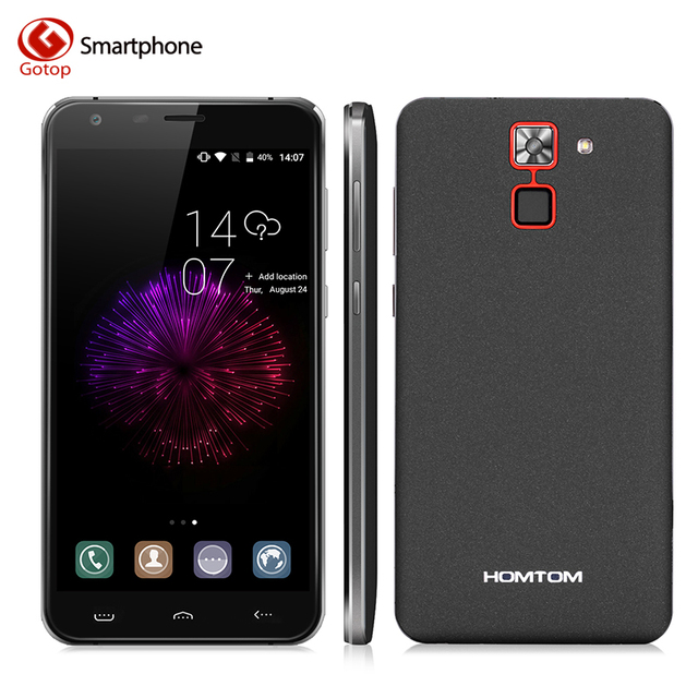 HOMTOM HT30 Pro MTK6737 Quad core Cell Phone 5.5 inch Android 7.0 Smartphone Ram 3GB+Rom 32GB 3000Mah Fingerprint Moblie Phone