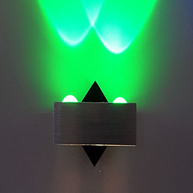 UFO Cube Overlying Body Modern LED Wall Lamp Light With 2 Lights For Home Lighting Wall Sconce Free Shipping