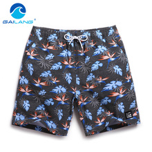Gailang Brand Beach Board Shorts Trunks Men's Casual bermudas masculina marca