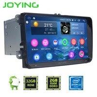 Joying Car Radio For VW 8 Inch Double 2 Din Car Multimedia Player GPS Navigation DVD