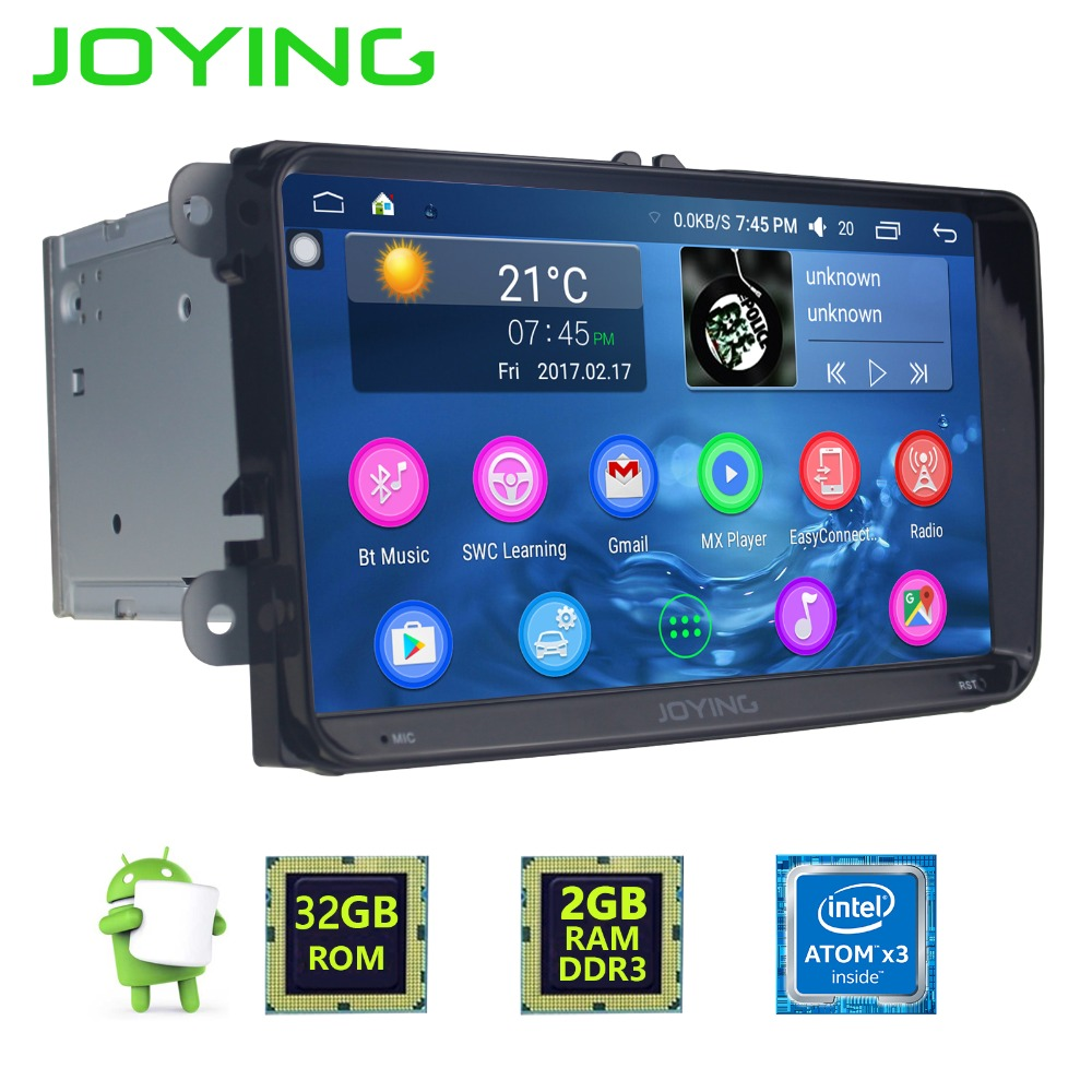 Joying Car Radio 2GB+32GB For VW 9″ Double 2 Din Car Multimedia Player GPS Navigation DVD Player Car Audio Stereo Auto Head Unit