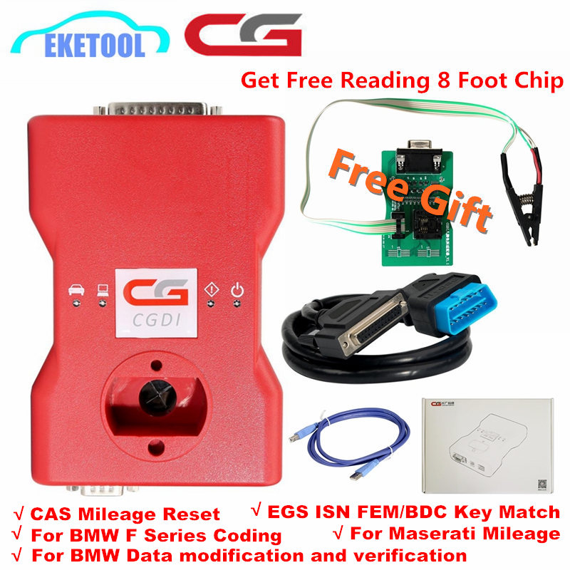 New Original CGDI Prog For BMW MSV80 FEM EDC Function Power 3 IN 1 Function Auto