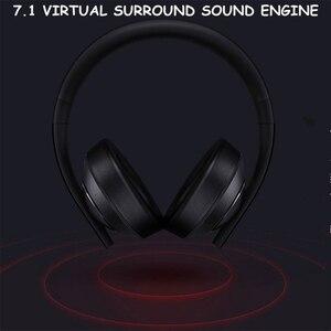 Image 2 - الأصلي شاومي MI الألعاب سماعة 7.1 الظاهري المحيطي سماعات 3.5 مللي متر مع ميكروفون إلغاء الضوضاء للهاتف المحمول الكمبيوتر PS4
