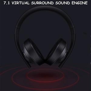 Image 2 - Original Xiaomi MI Gaming Headset 7,1 Virtuelle Surround Kopfhörer 3,5mm Mit Mikrofon Noise Cancelling Für PC PS4 Laptop Telefon