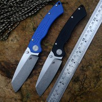 CH New Gift folding knife toucans D2 blade ball bearing washer G10 handle outdoor camping hunting pocket knife EDC tools