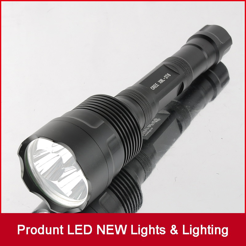 3*XML T6 LED Flashlight 3800 Lumens 5 Modes Extendable Led flashlight 3*CREE LED Torch Light Water Resistant for 18650 6000lumens bike bicycle light cree xml t6 led flashlight torch mount holder warning rear flash light