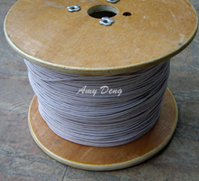 2 meters/lot  0.1X1600 wire strands of polyester cotton is sold by the metre 22 yuan a metre