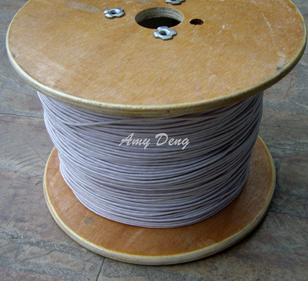 2 Meters/lot  0.1X1600 Wire Strands Of Polyester Cotton Is Sold By The Metre