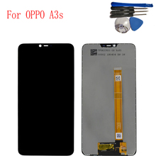 6.2 inch For Oppo A3s LCD Display Touch Screen Digitizer Assembly Replacement for OPPO lcd display Repair + Tools