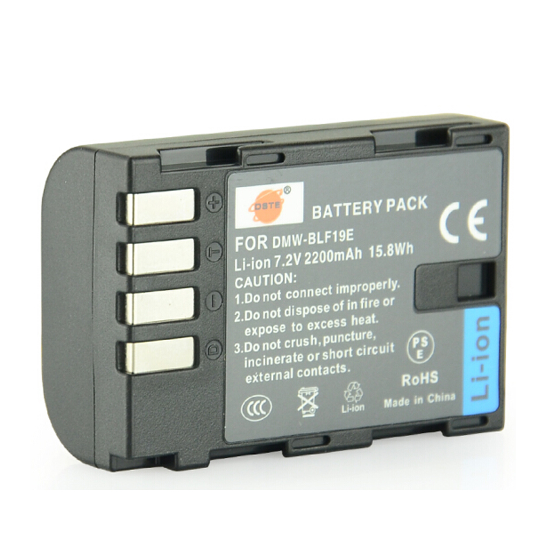 dmw blf19e - DSTE 3PCS DMW-BLF19E BLF19 Rechargeable Camera Battery for Panasonic Lumix DMC-GH3 DMC-GH4