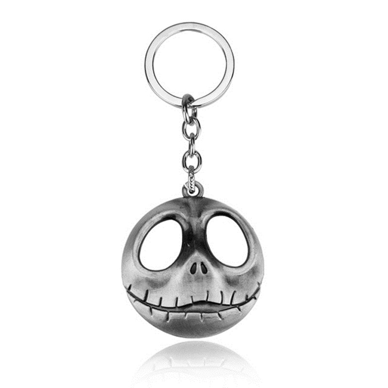 Movie the Nightmare Before Christmas Alloy Car Key Chain Holder Best Friend Graduation Day Gift