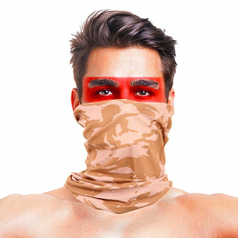 3D листья носовые платки с принтами Для женщин шарф полиэстер микрофибра шеи маска для лица бандана Для мужчин повязка-труба платок - Цвет: 033