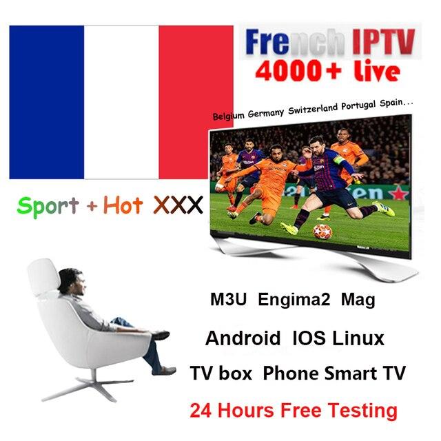 Nước Pháp IPTV thuê bao Pháp Bỉ IPTV Tiếng Ả Rập IPTV Spainish Italia cho Android m3u enigma2 MAG250 TVIP Thông Minh truyền hình HTV 5 hộp