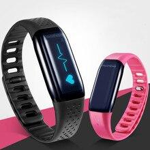 Pulsera inteligente de control Del ritmo Cardíaco llamadas para recordar el sueño paso HR Mambo paso a paso Impermeable Reloj Deportivo de ENVÍO GRATIS