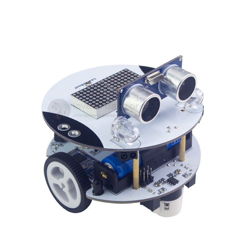 Qbot Scratch programming robot kit  / maker education robot Arduino suite programming scala scalability functional programming objects