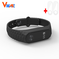 Xiaomi Mi Band 2 Strap with screen protector MiBand 2 Silicone Wristbands for Mi Band 2 Smart Bracelet for Xiao Mi Band 2