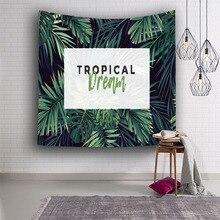 Тропический стиль мечты гобелен настенные Висячие украшения для общежития домашний текстиль пляжная одежда
