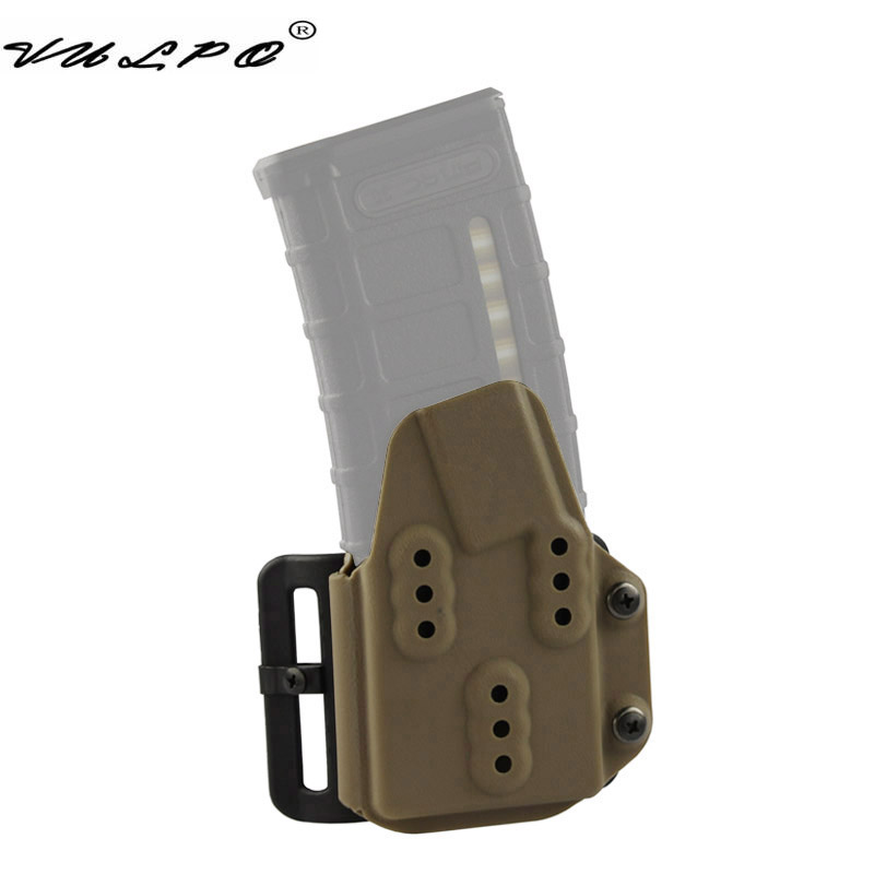VULPO New Tactical Kydex AR Mag Carrier 5.56mm Magazine Pouch For Belt System image