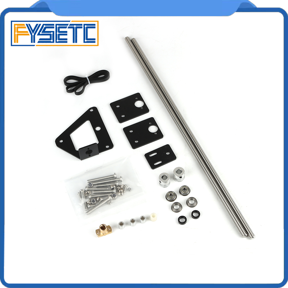 3D Printer Part Dual Z axis Upgrade Kit Dual Z Tension Pulley Set