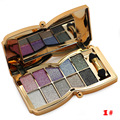 10 Colores Paleta de Sombra con Sombra de Ojos Cosmético Profesional Del Diamante Sombra de Ojos Maquillaje Conjunto M02463