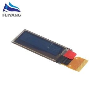 "Image 5 - 1 قطعة 0.91 بوصة OLED وحدة 0.91 ""أبيض/أزرق OLED 128X32 OLED شاشة LCD LED وحدة 0.91"" IIC التواصل ل ardunio"