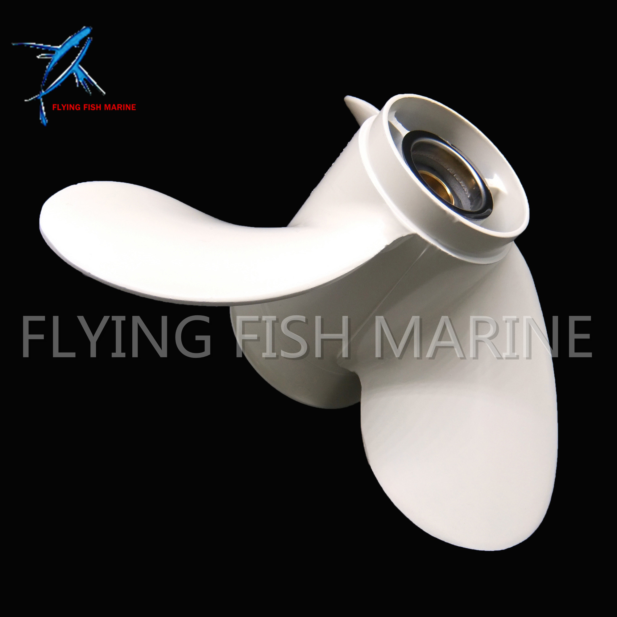 Outboard Motor 63V 45952 10 EL 9 1 4X10 J1 Cupped Aluminum Propeller for Yamaha 15hp