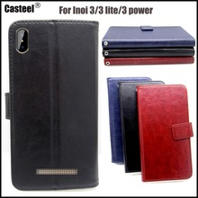 Casteel Classic Flight Series high quality PU skin leather case For INOI 3 lite power Case Cover Shield