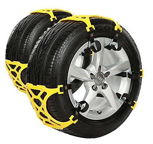 Anti Snow Chains of Car ,SUV Chain Tire Emergency Thickening Anti--Skid Chain Car Snow Car Suit 165-265mm