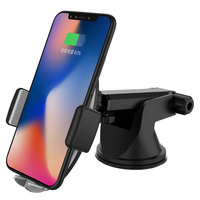 Ascromy Wireless Car Charger Dashboard Windshield Air Vent Gravity Phone Holder Mount For iPhone X 8 PLus Samsung Galaxy S9 S8